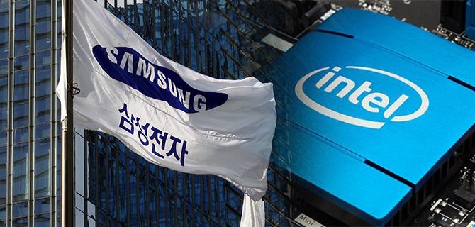 Снимка: Samsung спечели поръчка за производство на Intel процесори