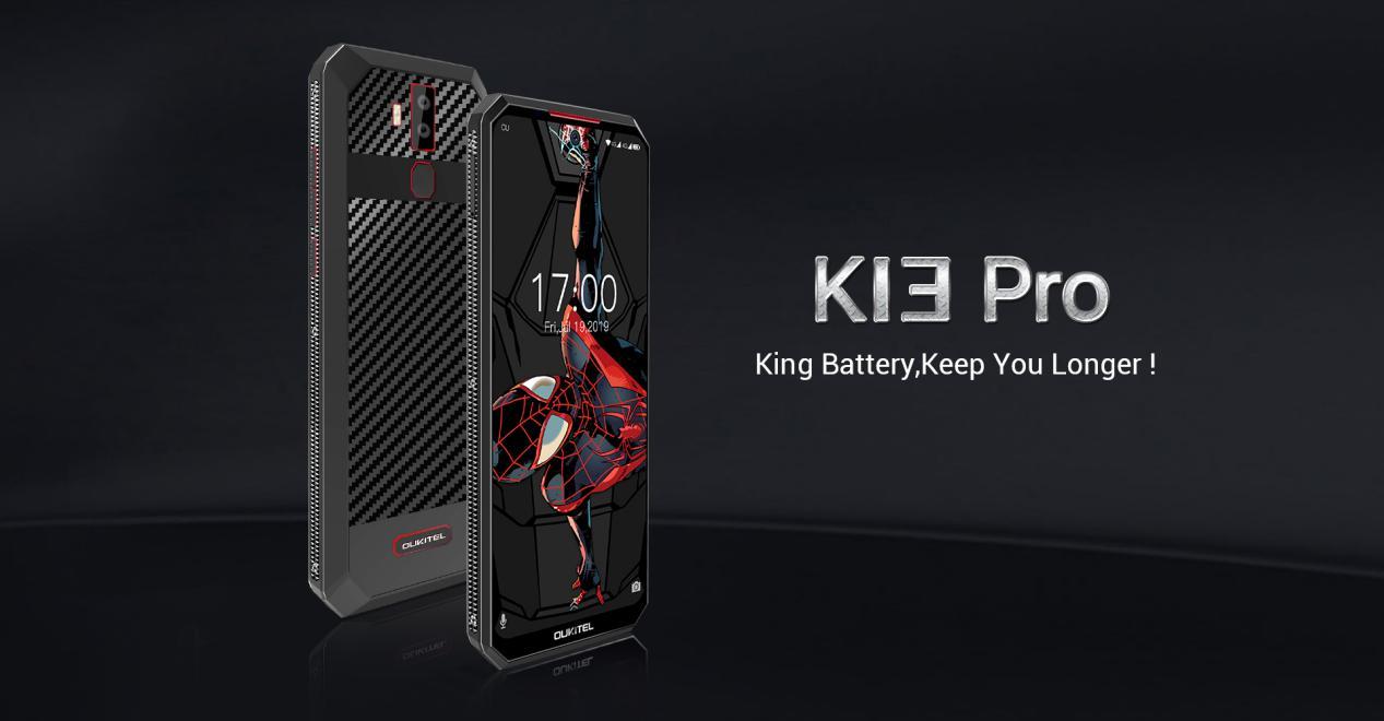 Смартфонът Oukitel K13 Pro с 11000 mAh батерия може да бъде купен от Banggood само за $169,99