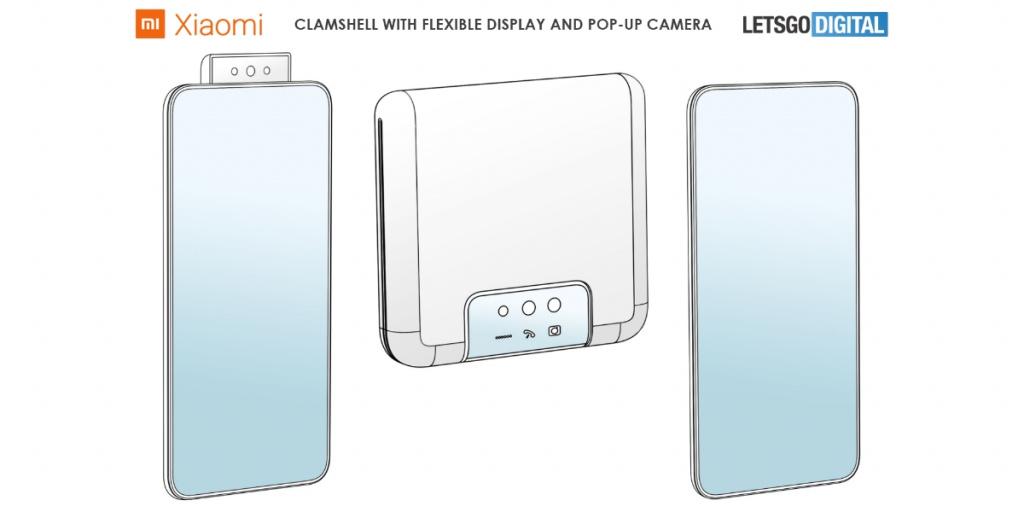 Xiaomi патентова сгъваем смартфон с изскачаща камера
