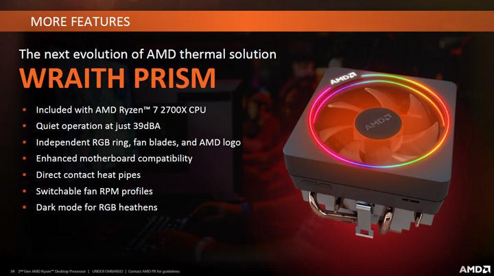 AMD подготвя новия охладител Wraith Prism с 6 топлинни тръби