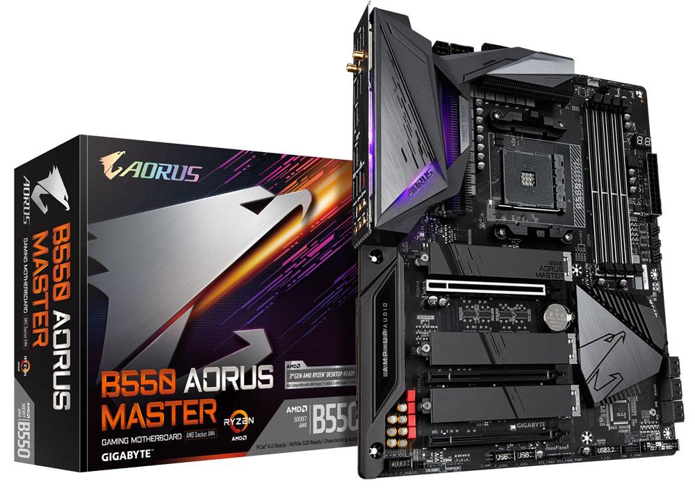 Gigabyte обяви цените на своите дънни платки с чипсета AMD B550