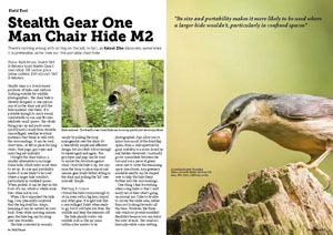 Wild Planet Photo Magazine-issue 1-Stealth Gear Chair Hide review-Kaleel Zibe_Page_1