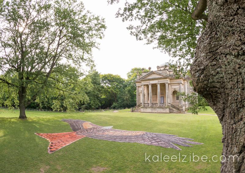 _ND47077 Red kite mosaic-Gibside Chapel-KaleelZibe.com