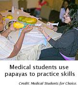 Papayas Fill Gaps in Doctors' Abortion Training