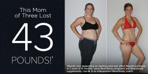 This Mom of 3 Lost 43 Pounds!