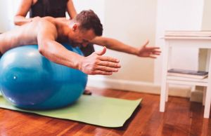 5 Stability Ball Exercises That Work More Than Your Abs