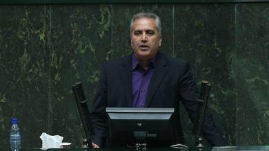 تصویر انتقاد شدید نماینده کاشمر در مجلس از بشار اسد و ولادیمیر پوتین