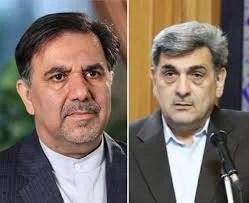 تصویر آخوندی و حناچی گزینههای نهایی شهرداری تهران شدند