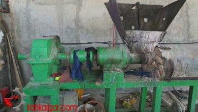 تصویر مرگ یک کارگر زن جوان در دستگاه فشردهسازی ضایعات پلاستیک