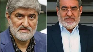 تصویر علی مطهری: وزیر کشور مسئول وقایع آبانماه ۹۸ و کشته شدن هموطنان است