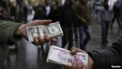 تصویر نرخ دلار در بازار آزاد تهران از مرز ۲۲ هزار تومان عبور کرد