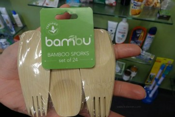 Bamboo sporks, fork and spoon, innovation