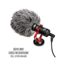 youtube video microphone for smartphone pc and dslr boya by mm1