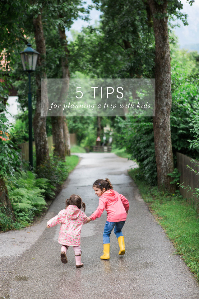 5 Tips for Planning a Trip With Kids - these tips may surprise you!