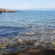 Mer claire de Croatie