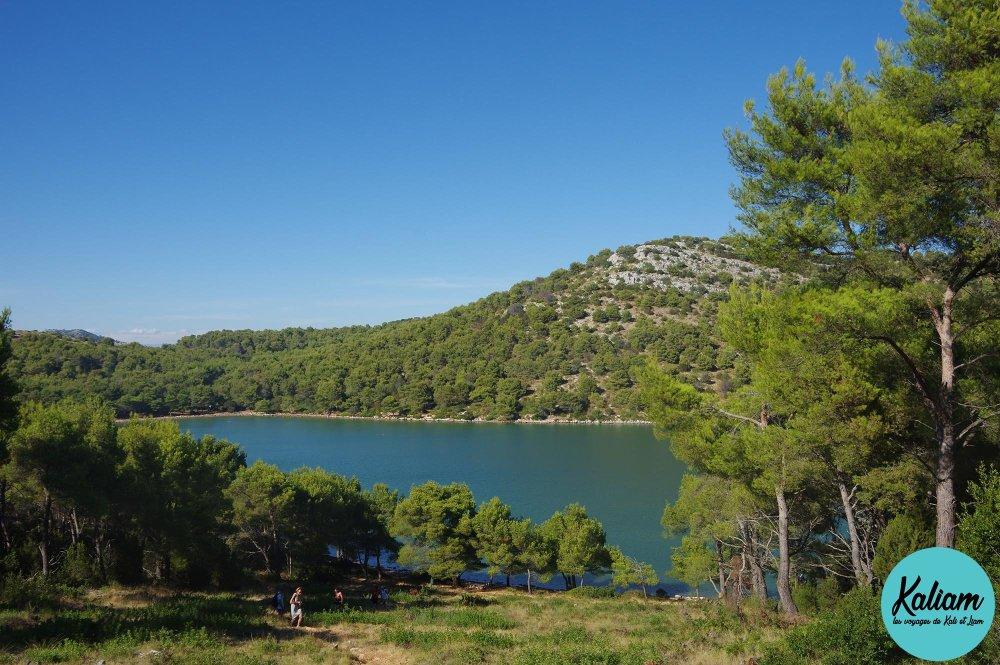 Le lac salé