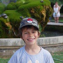 Liam Pokemon avec les tortues cascadeuses