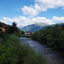 Vue du pont de Gmünd