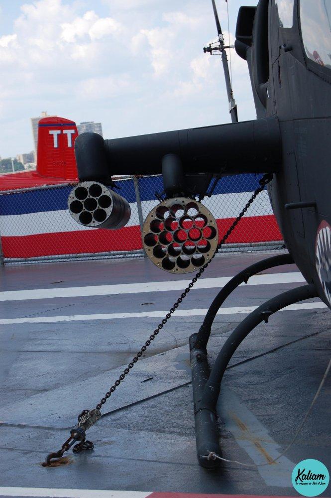2 modules de paniers à roquettes