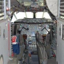 Le cockpit du concorde