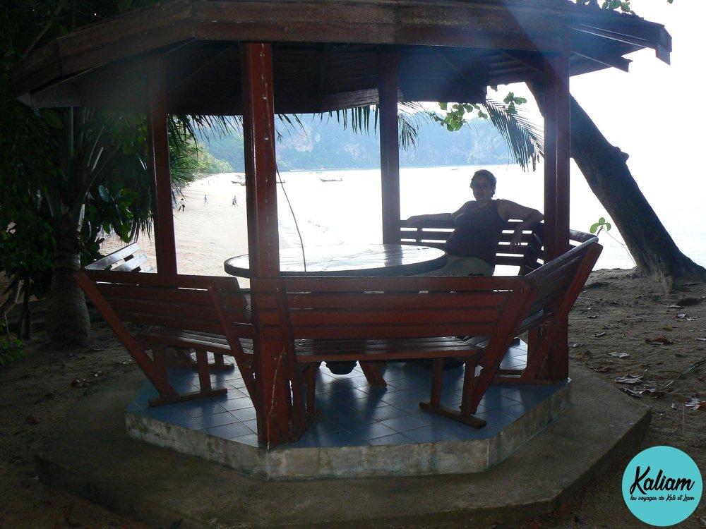 Repos près des PIPI Islands, là ou on a tourné un james bond je crois