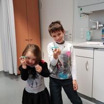 Ils sont fiers les deux avec leurs vaccins