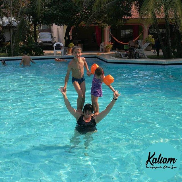 Training hard at the swimming pool On sentrane dur hellip