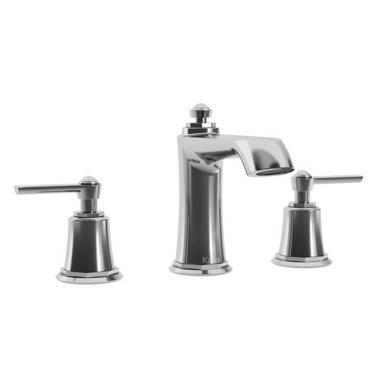 rustik widespread sink faucet with drain