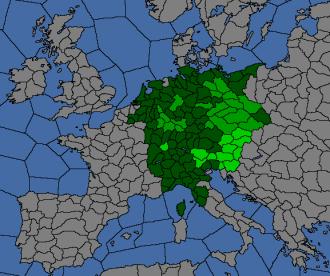 Provinces du SERG