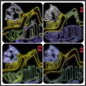 kaligrafi jawa wayang semar