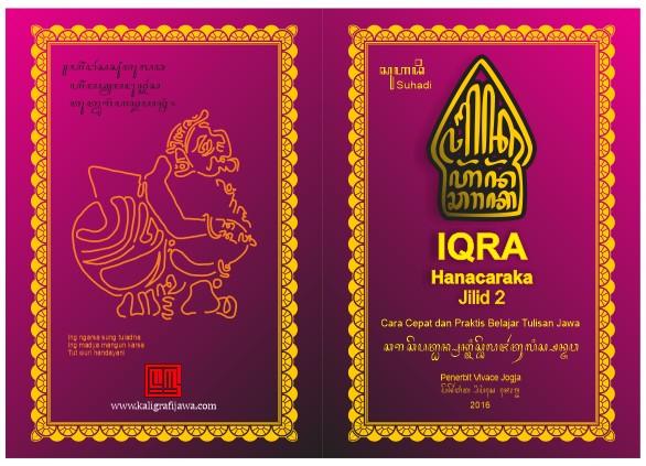 Sampul buku IQRA Hanacaraka jilid 2