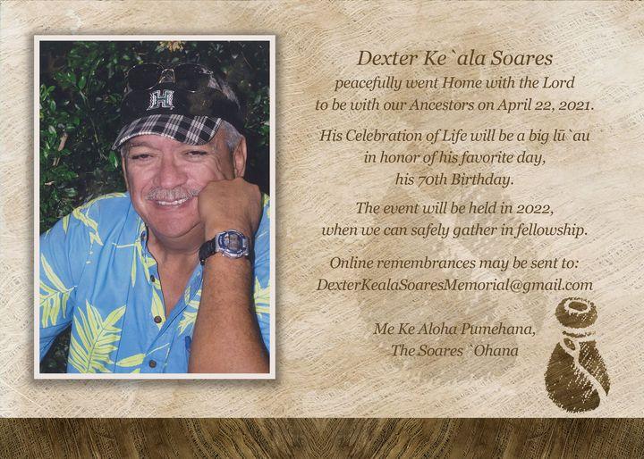 Dexter Soares Memorial
