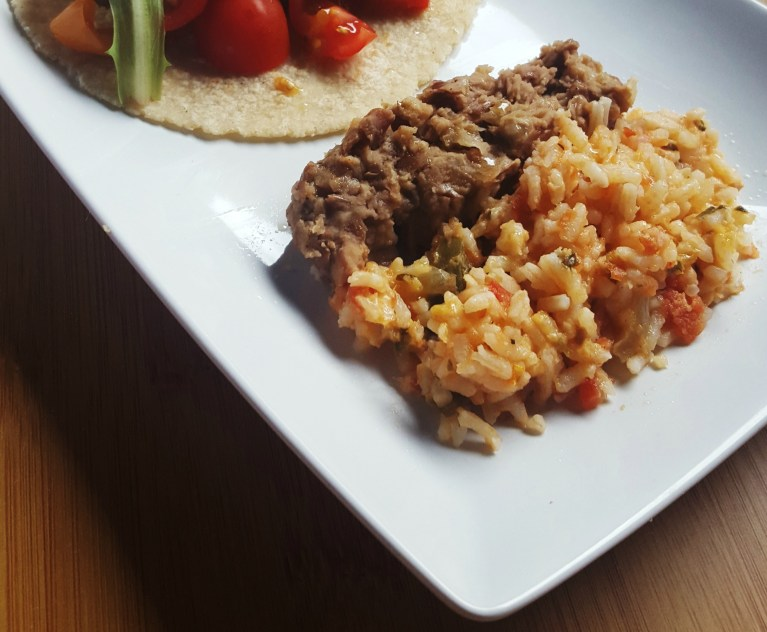 Easy Cheesy Spanish Rice