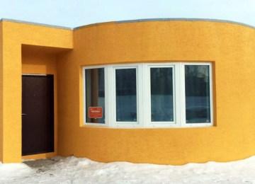 Une maison imprimée en 3D