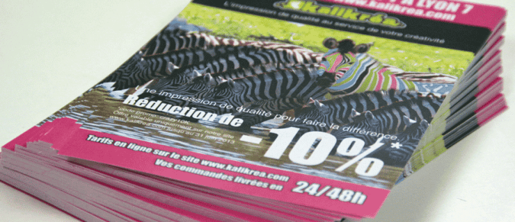 10 clés pour réussir et imprimer son flyer