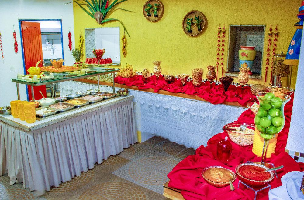 Café da Manhã Pousada Kaliman Ubatuba