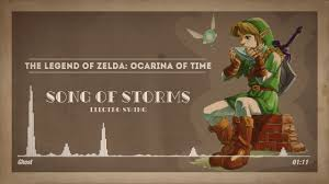 Song Of Storms - The Legend Of Zelda Ocarina Of Time
