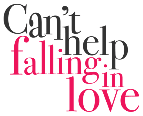 Can't help falling in love