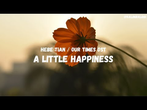 Our Times OST - A Little Happiness by Hebe Tian