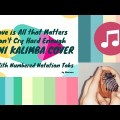 Love is All that Matters / Can't Cry Hard Enough on 8 Keys Mini Kalimba