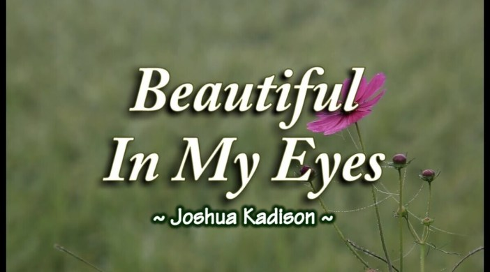 Beautiful In My Eyes by Joshua Kadison(Easy)