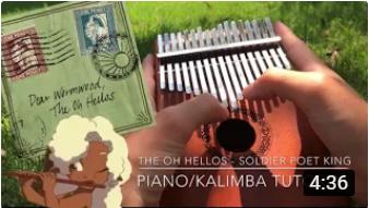 Soldier Poet King Piano/Kalimba Tutorial