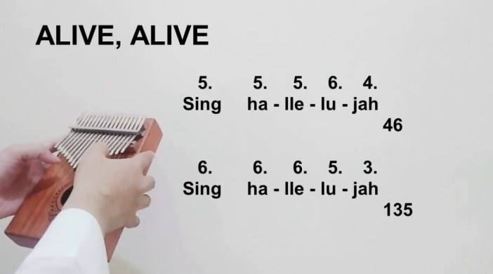 Alive alive alive forevermore