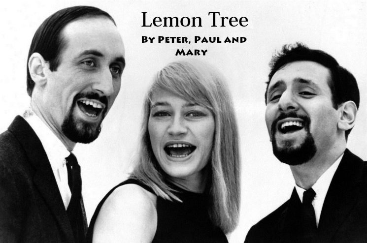 Lemon Tree By Peter, Paul and Mary Kalimba Tabs