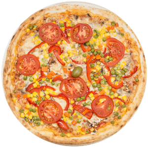 Pizza z vrta