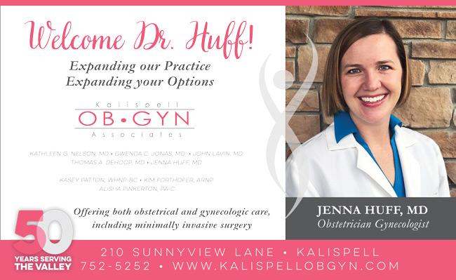 Dr. Jenna Huff - Kalispell OB/GYN