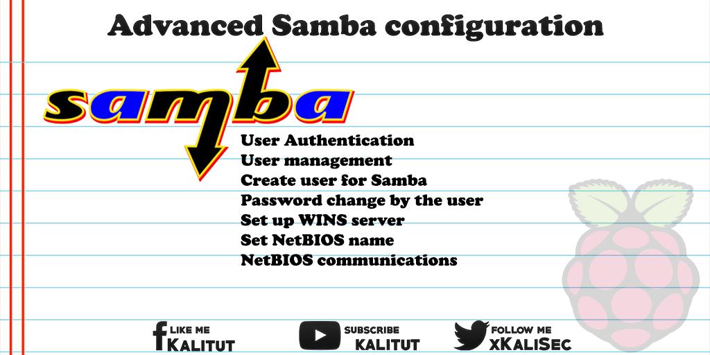 How to configure samba