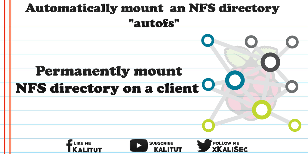 """mount/unmount an NFS directory with """"autofs"""""""