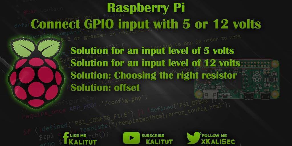Connect Raspberry Pi GPIO input