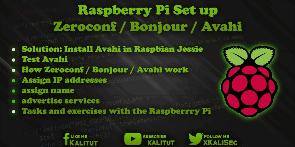 zeroconf raspberry pi